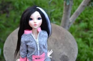 Maya et sa nouvelle tenue ♥
