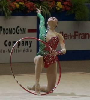 Finale Cerceau:  Senyue Deng(Chine), 6ème