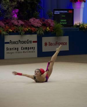 Finale Ballon: Senyue Deng(Chine), 5ème