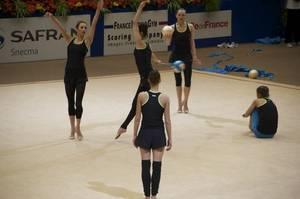 Training in Corbeil: Team Bulgaria