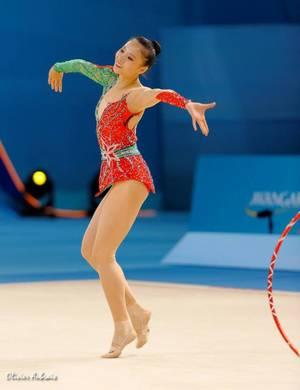 Kiev finales à 24 individuelles: Senyue Deng, 4ème