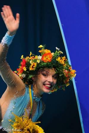 Kiev finales à 24 individuelles: Melitina Staniouta, 3ème
