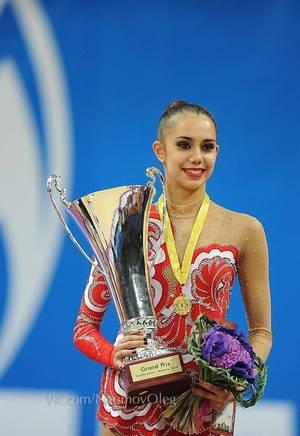 Grand Prix Moscou 2014 - individuelles séniors ( Margarita Mamun)