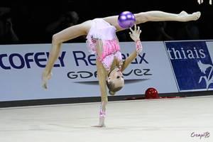 Grand Prix de Thiais 2014 - individuelles séniors ( Yana Kudryavsteva)