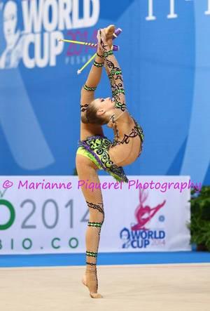 Coupe du Monde de Pesaro 2014 - Maria Titova