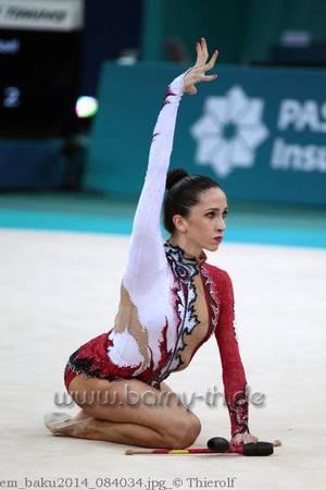 Championnat d'Europe 2014 à Baku - classement individuelles seniors