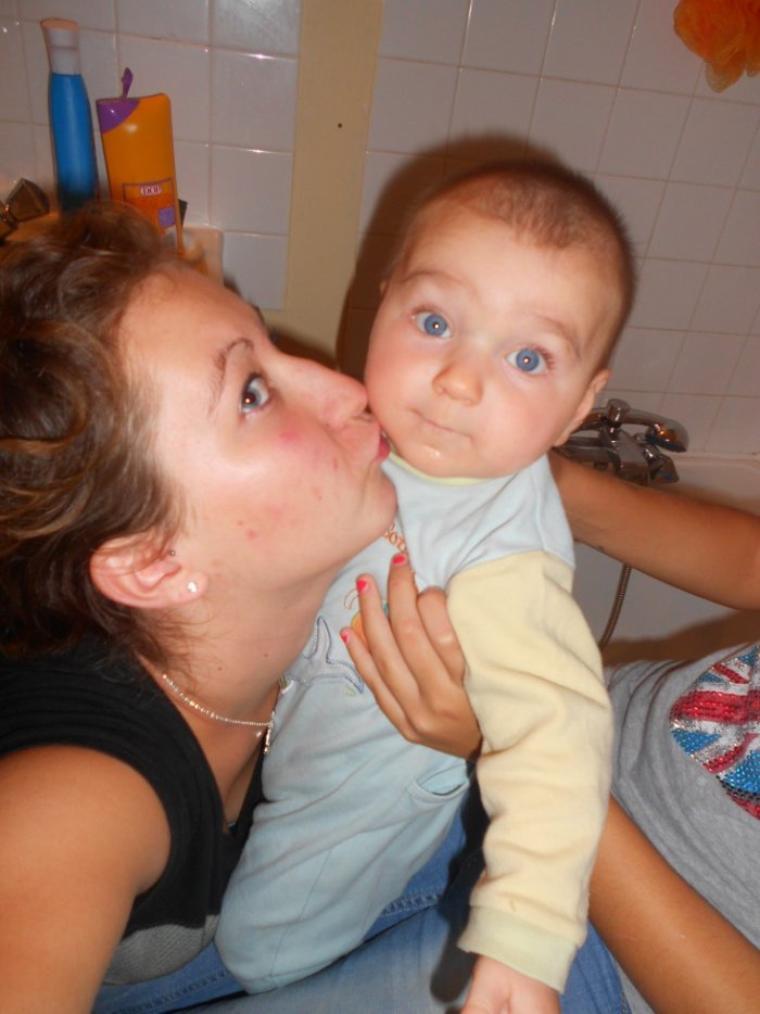 Moi et mon fils <3