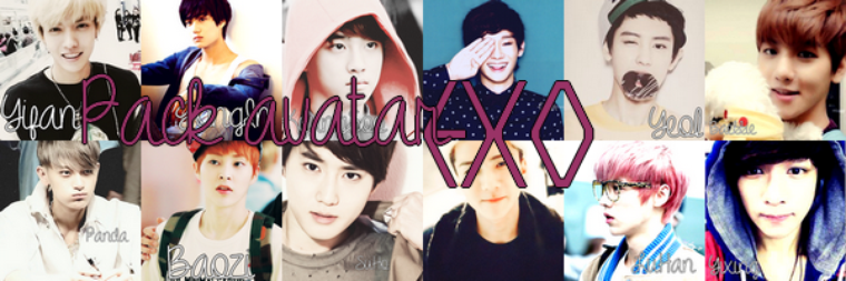 Pack avatar - EXO.