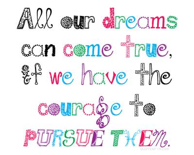 Vis tes rêves, ne rêves pas ta vie.