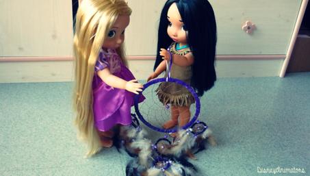 #1 Pocahontas rencontre Raiponce