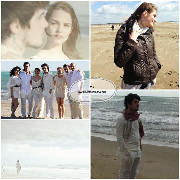 Quelques images lors du tournage du clip Sur Ma Peau