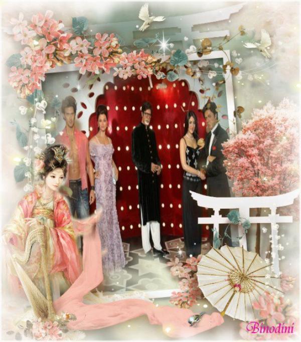 AISHWARYA RAI BACHCHAN, HRITHIK ROSHAN, SHAH RUKH KHAN ET AMITABH BACHCHAN EXPOSES A HONG KONG PAR MME TUSSAUDS