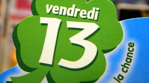 PORTE  BONHEUR  POUR  CE  VENDREDI 13