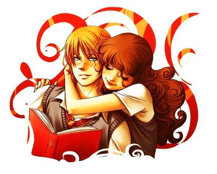 Hermione et Ron
