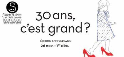 Salon du livre et de la presse jeunesse de Montreuil - Dimanche 30/11