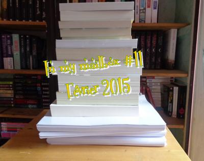 In My Mailbox #11 - Février 2015