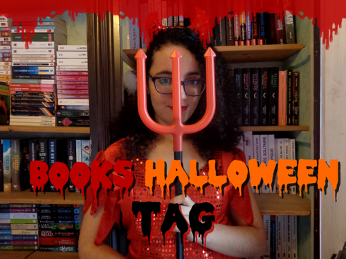 🎃 Books Tag Halloween 🎃