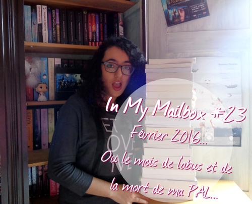 In My Mailbox #23 - Février 2016