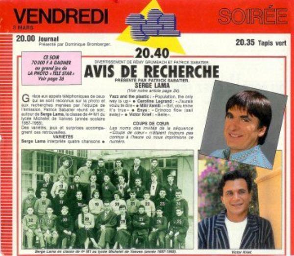 Chronologie de la Télévision Francaise des Années 80 (6564)