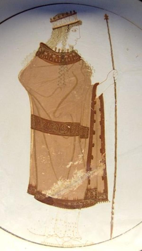 Déesse et Dieu Grec  (9107)