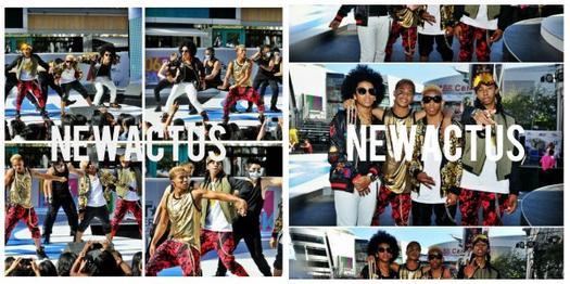 10/06/13 : Les Mindless dans l'émission 106 & Park à New York