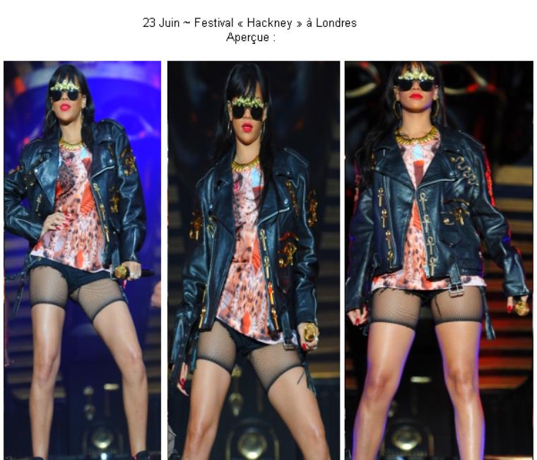 Article 10 On Magazines-the-stars - rihanna au festival « Hackney »video des performances (suite) + photo du festival News