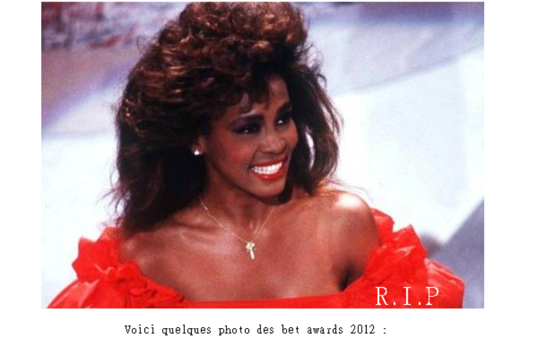 Article 13 On Magazines-the-stars - Beyonce Bet Awards 2012, & hommage a whitney Houston  News