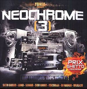 MIXTAPE NEOCHROME III / CREVER L'ABCES (2003)
