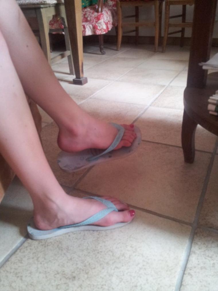 Les pieds de ma cousine =D