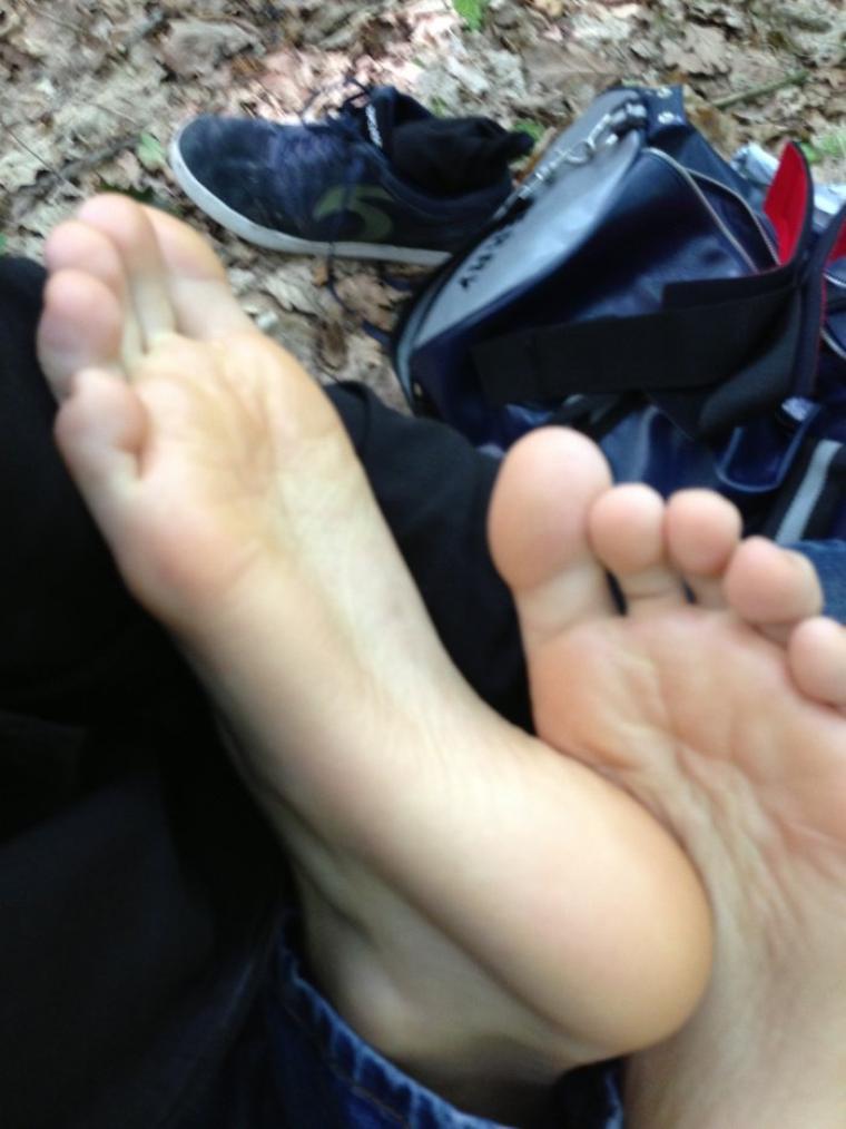 Quelques photos de mes pieds !  ;)