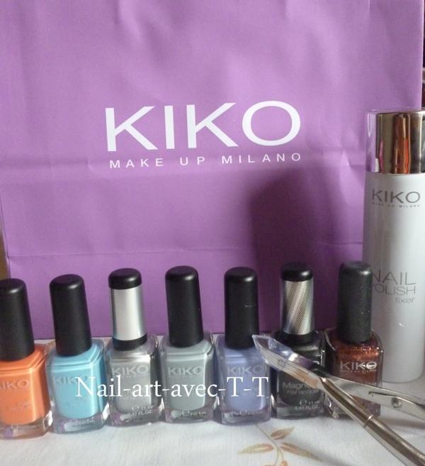 mes achats chez Kiko