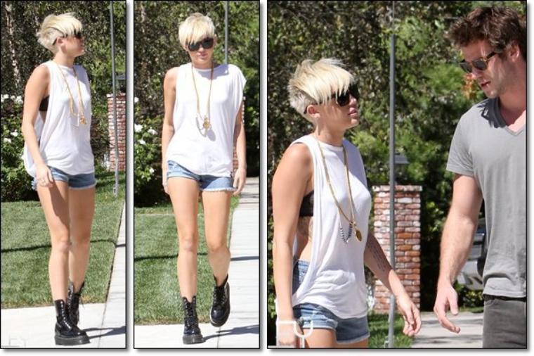 Tenue Miley Cyrus