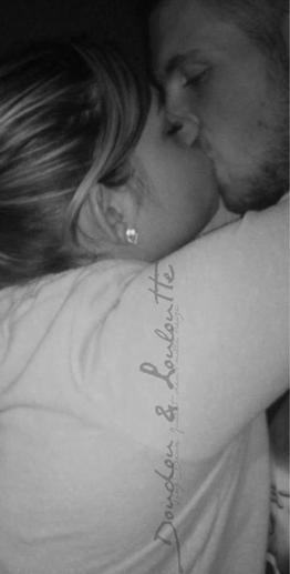 Je le dis haut et fort c'est avec lui que je ferais ma vie, être amoureuse de cette homme c'est ce qu'il y a de mieux.