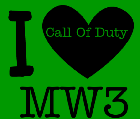 I love call of duty mw3