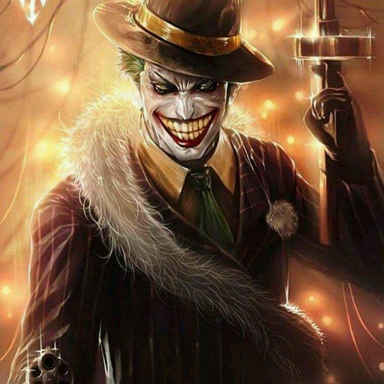 je kiff le style du joker..^^