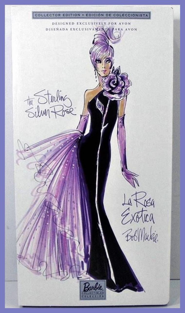 Barbie Sterling Silver Rose