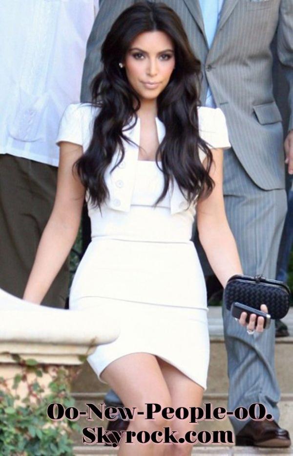 """20.08.2011 - Reportage Photos : Kim Kardashian """"totalement calme"""" pour les répétitions de son mariage !"""