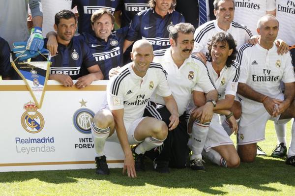 Score du match Real Madrid Leyendas vs Inter Forever 2-2