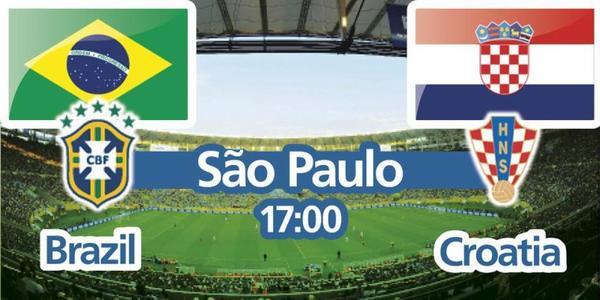 CM Round 1: Brésil vs. Croatie