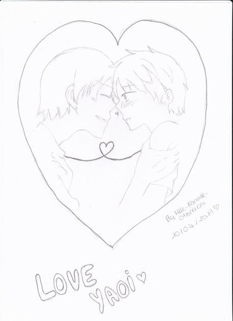 1er dessin Yaoi <3