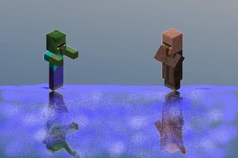 Zombie VS Villageois