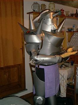 Cosplay armure d'Alphonse