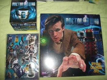 Swap Doctor Who : Colis