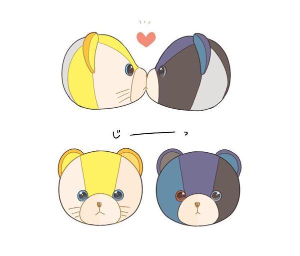 Quand sasuke et Naruto se prennent pour des ours.