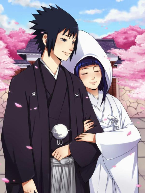 NARUTOSAKURA and SASUKEHINATA