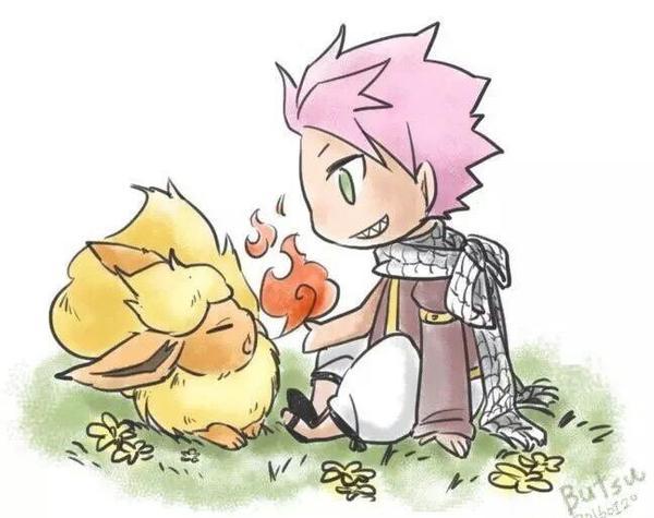 Gray vs Natsu pokemon!
