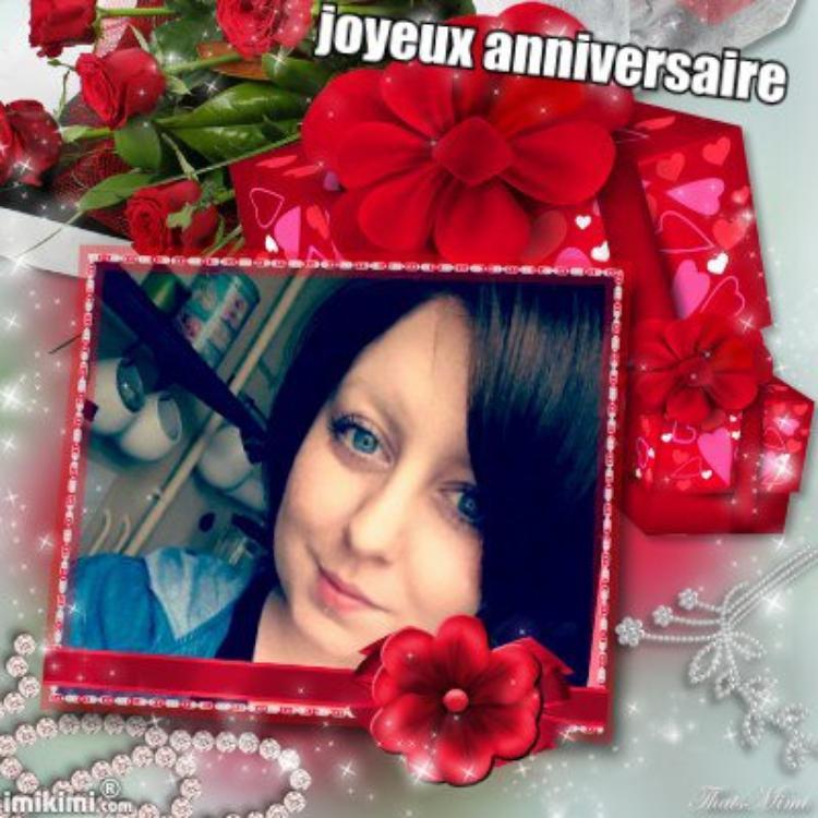 aujourd hui anniversaire de ma belle fille maureen