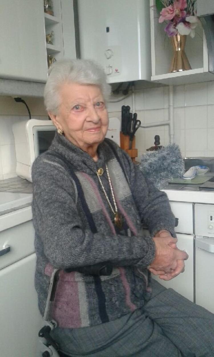 voila belle maman 96ans