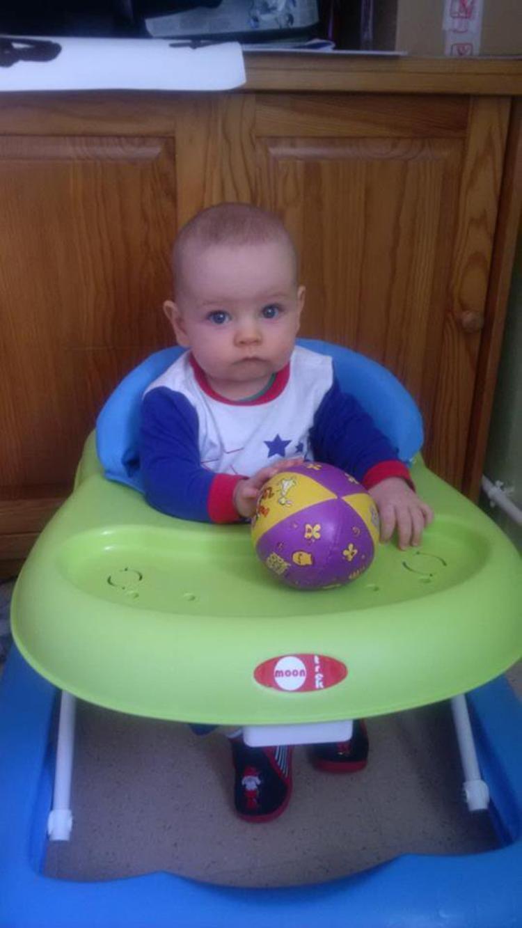 voila mon petit fils tony 7 mois