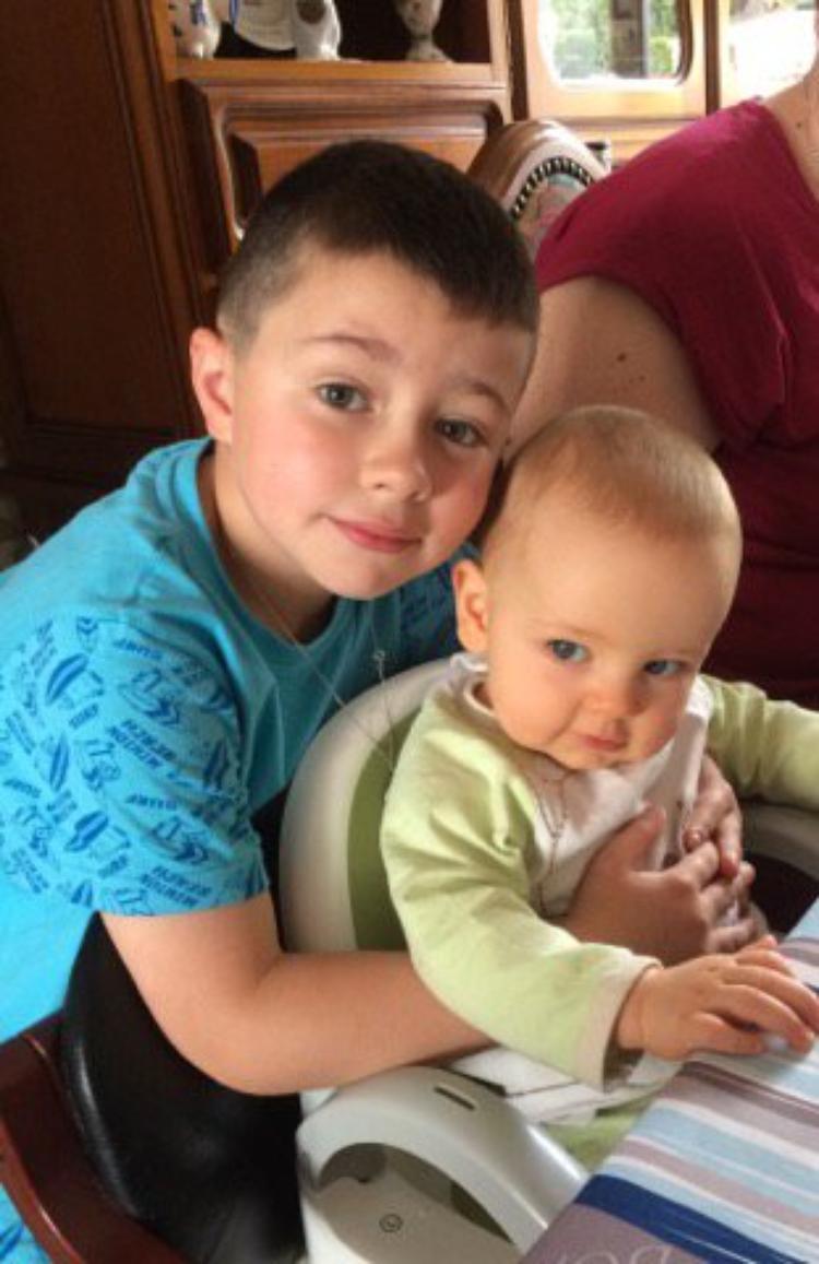 voila mon dimanche avec mes petits enfants et enfants